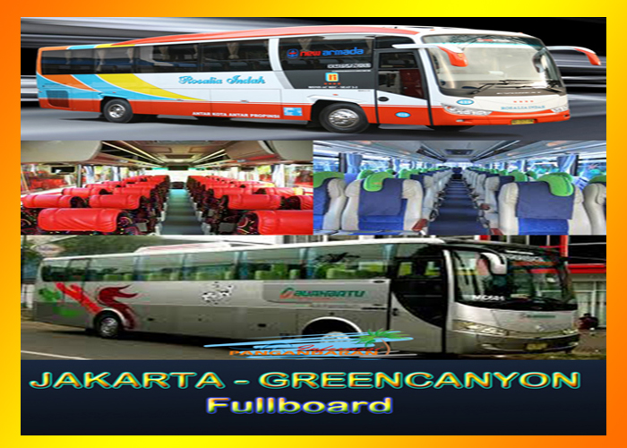 Paket Jakarta - Green Canyon All In One