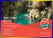 OPEN TRIP GREEN CANYON & CITUMANG