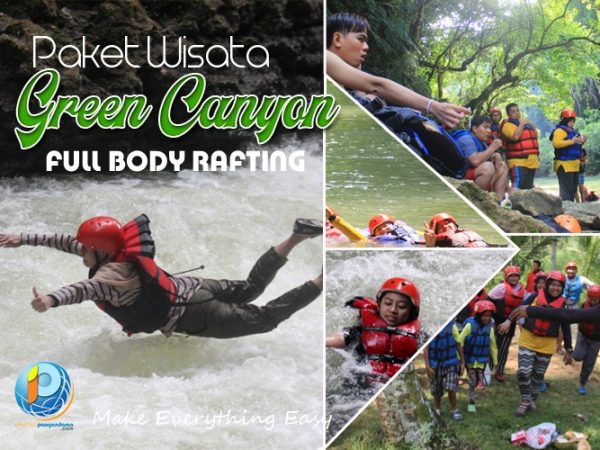 Green Canyon Full Bodyrafting